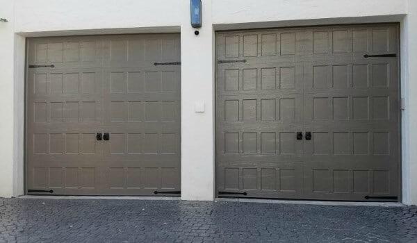 16 X 7 And 8 X 7 Garage Door Mahogany Color, Weston, Fl