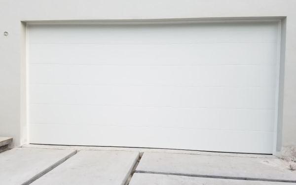 Modern White Garage Door gallery | garage door solutions miami