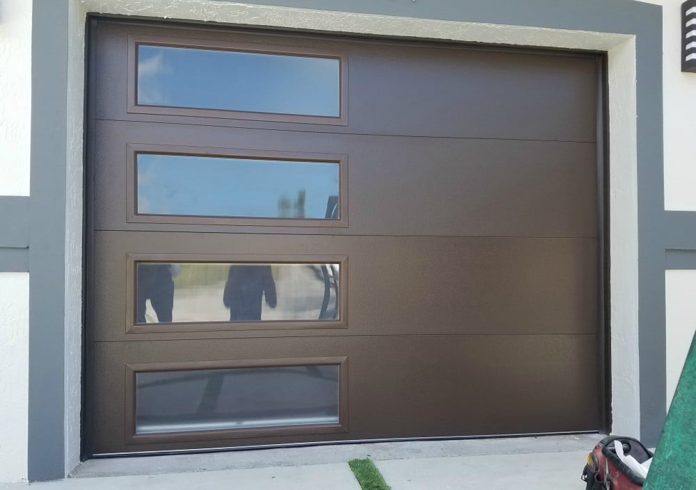 modern long side glass - Clopay Garage Doors